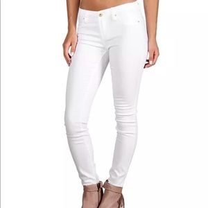 Kate Spade Play Hooky Perry Street white jeans 26